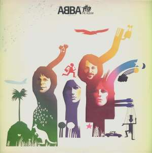 Gramofonska ploča ABBA Album LP 55 5716, stanje ploče je 9/10