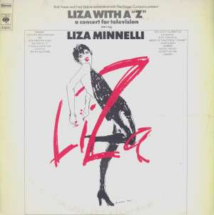 Gramofonska ploča Liza Minelli Liza With A Z. A Concert For Television CBS 65212, stanje ploče je 10/10