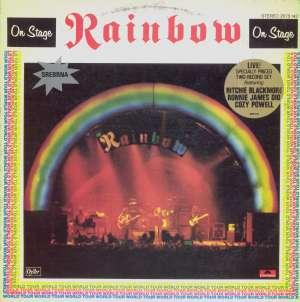 Gramofonska ploča Rainbow On Stage 2LP 5707/08, stanje ploče je 10/10