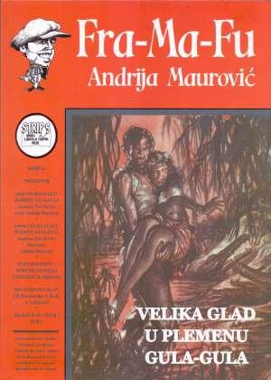 Velika glad u plemenu Gula Gula Franjo Fuis, Andrija Maurović tvrdi uvez