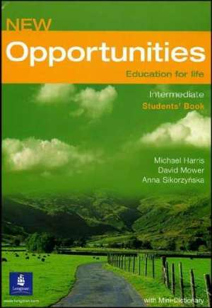 New Opportunities Education for Life: Intermediate Language Powerbook autora Sharman, Dean, Sikorzynska, Mrozowska