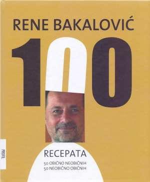 100 recepata Rene Bakalović tvrdi uvez