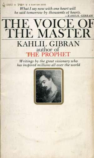 The voice of the master Gibran Kahlil meki uvez