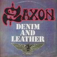 Gramofonska ploča Saxon Denim And Leather LSCARR 70969, stanje ploče je 9/10
