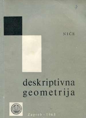 Vilko Niče - Deskriptivna geometrija