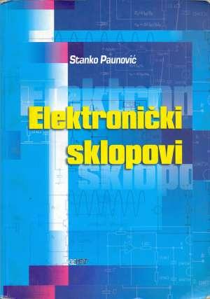 Elektronički sklopovi Stanko Paunović meki uvez