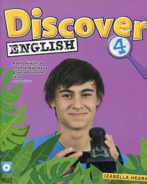 Discover English 4 radna bilježnica iz engleskog jezika za 8. razred osnovne škole autora Izabela Hearn