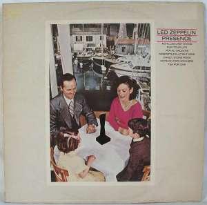 Gramofonska ploča Led Zeppelin Presence ATL 59402, stanje ploče je 10/10