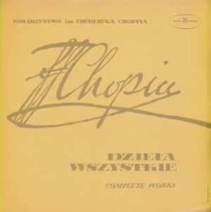 Fryderyk Chopin - Bolesław Woytowicz - Dzieła Wszystkie (Complete Works) - Etiudy = Etudes Op. 25 - SX 0064