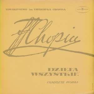 Gramofonska ploča Fryderyk Chopin - Bolesław Woytowicz Dzieła Wszystkie (Complete Works) - Etiudy = Etudes Op. 25 SX 0064, stanje ploče je 10/10