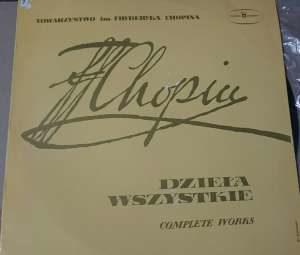 Fryderyk Chopin - Henryk Sztompka - Dzieła Wszystkie / Wszystkie Mazurki Vol. III - SX 0094