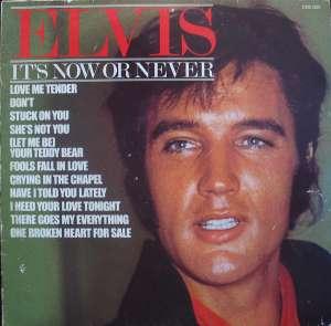 Gramofonska ploča Elvis Presley It's Now Or Never CDS 1203, stanje ploče je 10/10