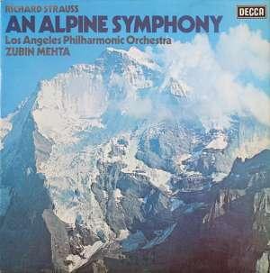 Gramofonska ploča Richard Strauss An Alpine symphony / Simfonija alpi op. 64 LSDC 70829, stanje ploče je 10/10