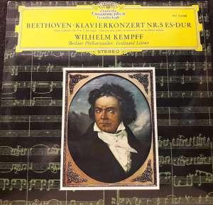 Gramofonska ploča Beethoven – Wilhelm Kempff, Berliner Philharmoniker · Ferdinand Leitner Klavierkonzert Nr. 5 Es-dur STV 213308, stanje ploče je 10/10