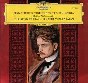 Gramofonska ploča Jean Sibelius / Berliner Philharmoniker / Herbert Von Karajan Violinkonzert · Finlandia STV 213514, stanje ploče je 10/10
