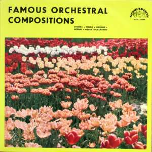 Gramofonska ploča Dvořák / Fibich / Sinding / Nedbal / Weber / Boccherini Famous Orchestral Compositions SUH 20089, stanje ploče je 10/10
