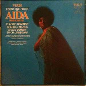 Gramofonska ploča Verdi With Leontyne Price Aida (Highlights) LSC 3275, stanje ploče je 10/10