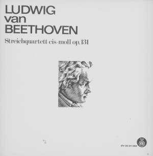 Gramofonska ploča Ludwig Van Beethoven / Amadeus Quartett Streichquartett Cis-Moll Op. 131 STV 213 311 DGG, stanje ploče je 10/10