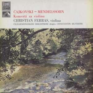 Gramofonska ploča Čajkovski / Mendelssohn Koncerti Za Violinu LPSV-HMV-418, stanje ploče je 10/10