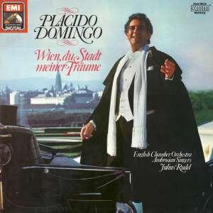 Gramofonska ploča Placido Domingo, English Chamber Orchestra, Ambrosian Singers*, Julius Rudel Wien, Du Stadt Meiner Träume 15 5516 1, stanje ploče je 10/10