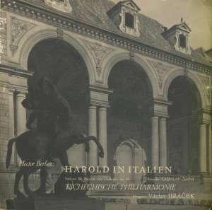 Gramofonska ploča Tschrchische Pphilharmonie / Dirigent Vaclav Jariček Harold In Italien D LPM - 84, stanje ploče je 10/10