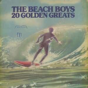 Gramofonska ploča Beach Boys 20 Golden Greats OC 062 o 82232, stanje ploče je 7/10
