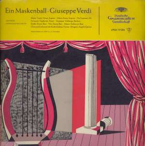 Gramofonska ploča Giuseppe Verdi Ein Maskenball LPEM 19086, stanje ploče je 10/10