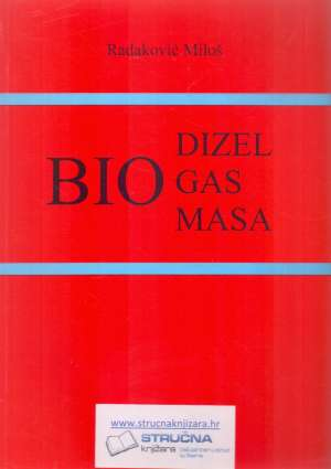 Biodizel, biogas, biomasa Miloš Radaković meki uvez
