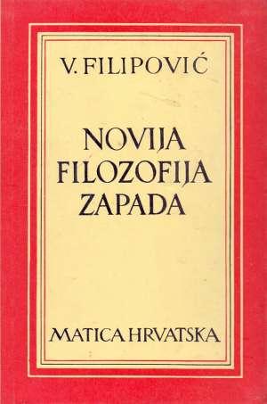 Vladimir Filipović - Novija filozofija Zapada