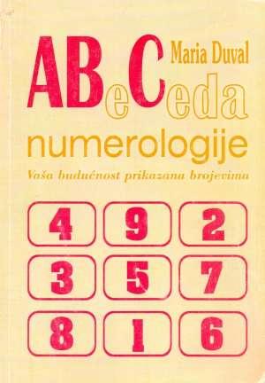 Abeceda numerologije Maria Duval meki uvez
