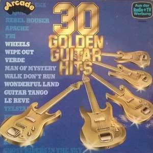 Gramofonska ploča 30 Golden Guitar Hits 30 Golden Guitar Hits ADE G 33, stanje ploče je 9/10