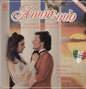 Gramofonska ploča Al Bano & Romina Power Amore Mio TG 1433, stanje ploče je 10/10