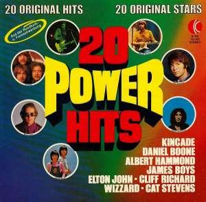 Gramofonska ploča Elton John / Cliff Richard / Kincade... 20 Power Hits (20 Original Hits 20 Original Stars) TG 102, stanje ploče je 9/10