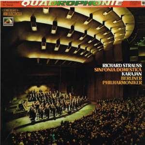 Gramofonska ploča Richard Strauss / Herbert Von Karajan / Berliner Philharmoniker Sinfonia Domestica Op. 53 1 C 065-02 445 Q, stanje ploče je 10/10
