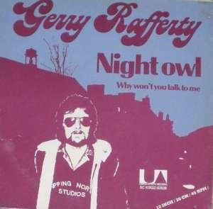 Gramofonska ploča Gerry Rafferty Night Owl / Why Won't You Talk To Me 5C K052Z-82628, stanje ploče je 10/10