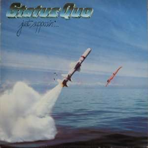 Gramofonska ploča Status Quo Just Supposin'... 6302 057, stanje ploče je 10/10