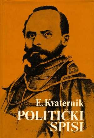 Eugen Kvaternik, Autor - Politički spisi