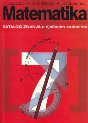 Boško Jagodić, Ivan Mrkonjić I Renata Svedrec, Autor - Matematika 7