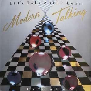 Gramofonska ploča Modern Talking Let's Talk About Love (The 2nd Album) 207 080-630, stanje ploče je 9/10