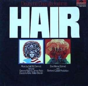 Gramofonska ploča Haare Ensemble  Hair (Haare) H 886/4, stanje ploče je 8/10