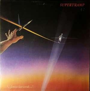 Gramofonska ploča Supertramp Famous Last Words SP 3732, stanje ploče je 10/10