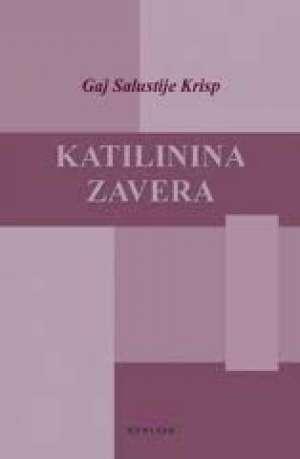 Gaj salustije krisp Katalinina Zavera meki uvez