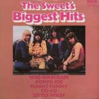 Gramofonska ploča Sweet Biggest Hits SP 123, stanje ploče je 10/10