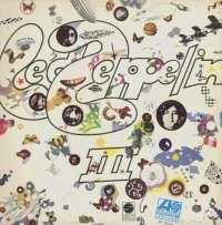 Gramofonska ploča Led Zeppelin Led Zeppelin III ATL 50002, stanje ploče je 8/10