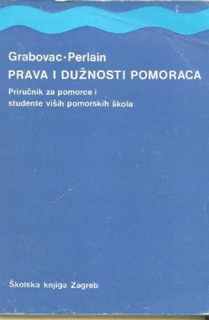Prava i dužnosti pomoraca Ivo Grabovac, Joško Perlain meki uvez