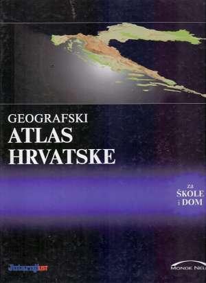 Geografski atlas hrvatske * Bertić šehić šehić tvrdi uvez