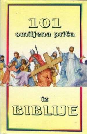 101 omiljena priča iz biblije Ura Miller tvrdi uvez