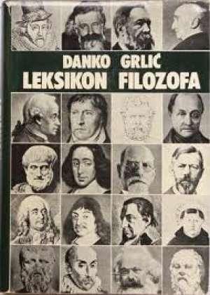 Leksikon filozofa Danko Grlić tvrdi uvez