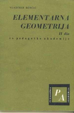 Vladimir Benčić - Elementarna geometrija II. dio