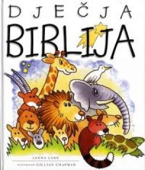 Dječja biblija Leena Lane I Gillian Chapman tvrdi uvez